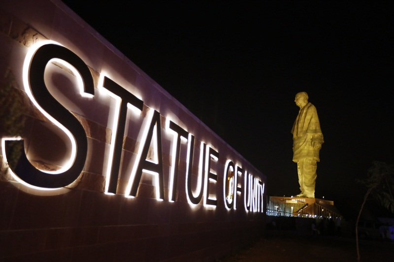 Statue of Unity Tour with Hop on Hop off Bus - Ticket Price!